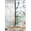"""Cotton window curtain """"Ludmilla"""" 45 x 70 cm"""