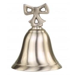Cloche avec petit noeud couleur laiton antique
