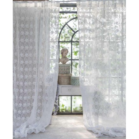 Long curtain with loops Intarsio 150 x 230 + 10 cm