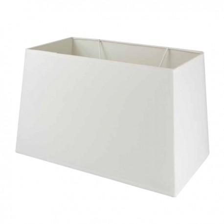 Natural beige linen rectangular lampshade