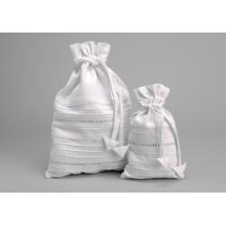 Set de 2 sacs lingerie blanc Secret