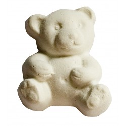 Set of 5 plain white mini bears to perfume