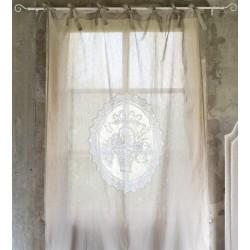 """Rideau long """"Aurélie"""" 140 x 290 cm"""