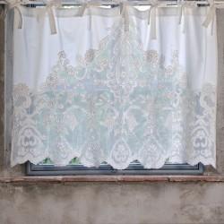 "Cantonnière ""Mantovana"" ecru 90 x 140 cm"