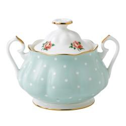 Ensemble à thé 3 pièces Polka Rose