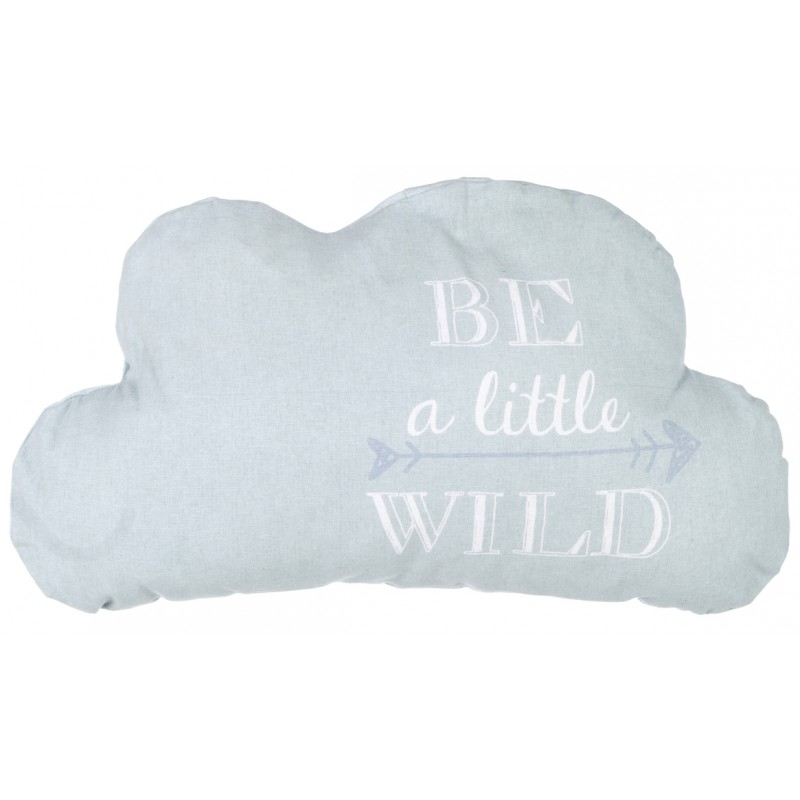 Cloud Cushion Quot Be A Little Wild Quot By Blanc Mariclo On