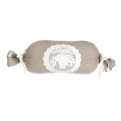 "Bolster cushion Beige 30 x 50 cm ""Aurelie Collection"""