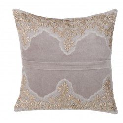"Coussin velour 45 x 45 cm ""Isabelle Collection"""