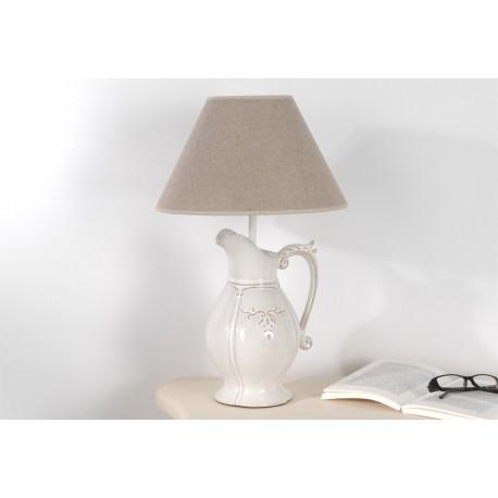 lampe pot de style shabby par amadeus sur. Black Bedroom Furniture Sets. Home Design Ideas